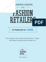 How to Build a Great Online Fashion Brand