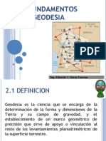 Capitulo II Fundamentos de Geodesia