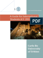 A guide for International and Erasmus students 2014/2015