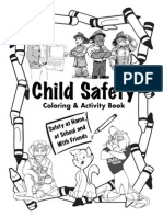 Michigan Legislature Child Safety  Coloring & Activity Book