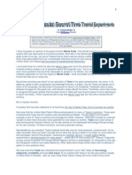 Tesla and Time Travel