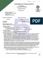 DPS Criminalistic Report 10-4-11