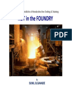 Ndt in the Foundry