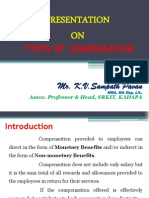 Types of Compensation