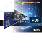 Analog Devices 2014 RFIC Selection Guide