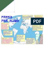 Cartina di preghiera per l'aliya