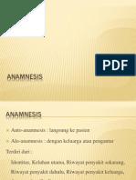 Anamnesis DBD