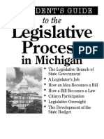 A Student's Guide to the Legislative Process in Michigan