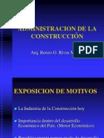 Finanzas en La Construccion