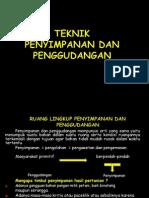 Teknik Penyimpanan Dan Pengemasan 1