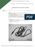 [HOW-To] Instalando Entrada Auxiliar No Som Do Stilo Versão MID - Artigos & How to - Clube Stilo Brasil