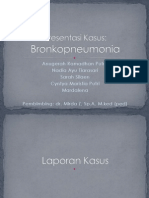 Presentasi Kasus bronkopneumonia