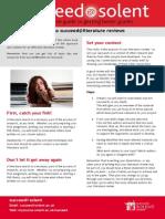 Succeed@Literature Reviews Summary Leaflet