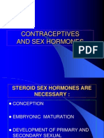2. Contraceptive and Sex Hormones