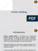 Friction Welding, Explosive Welding