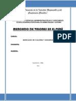 Mercado de Valores en El Peru