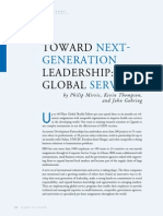 Toward Next-Generation Leadership