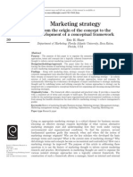 Marketing Strategy - From the Origin of the Concept to the Development of a Conceptual Framework