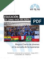 20140307 CuadernoTrabajoPUJ2014 Ecuador