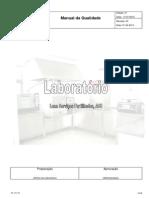 Manual Qualidade Laboratório Ed01 Rev03