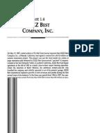 Zzzz best company case study answers