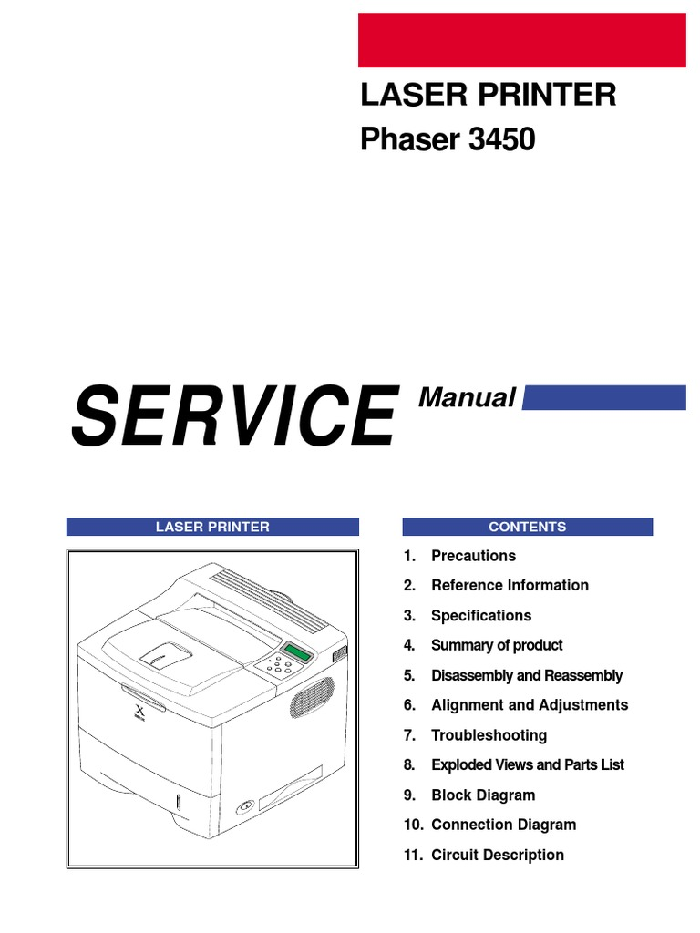 Xerox Phaser 3450 Electrostatic Discharge Ac Power Plugs And Sockets Logitech Z 680 Circuit Diagram