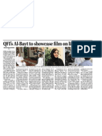 QFI's Al-Bayt to showcase film on life in Qatar