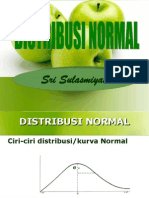 Distribusi Normal didukung oleh dosen universitas Brawijaya