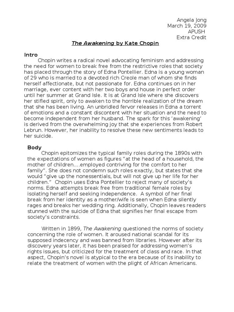 Essays on the awakening