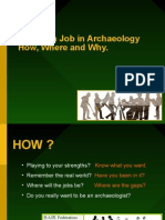 Getting a Job in Archaeology