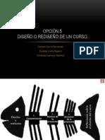Opción 5. Diseño o Rediseño de Un Curso