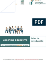 Coaching Educativo. Taller de coaching para profesores