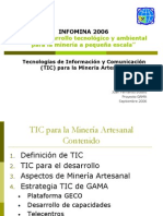 TIC Para La Mineria Artesanala