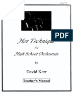 Kerr - Hot Technique for High School Orchestras 1/1