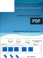SharePoint  - Logical Architecture
