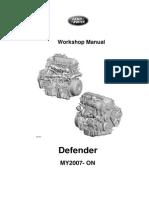 2007 Land Rover Defender Workshop Manual