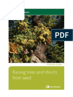 Raising Trees and Shrubs From Seed