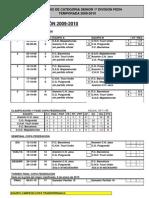 Temp 09-10 - Calendario, resultados y clasificaciones sénior a 29-11-09