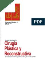 Cirugía Plástica y Reconstrcutiva Volumen 19 No 1 Junio 2013