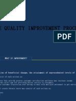 Sec 05  Quality Improvement Process