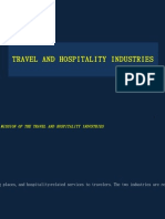 Sec 30 Travel & Hospitality Industries