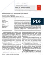 berrill addision repertoires of practice - reframing teaching portfolios