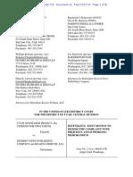 Deseret News Publishing, Kearns-Tribune LLC motion to dismiss