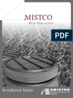 Amistco Mist Eliminator - Installation Guide