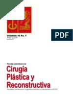 Cirugía Plastica y Reconstructiva Volumen-16-No-1 Junio 2010