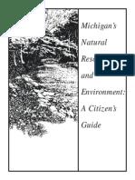 Michigan's Natural Resources and Environment