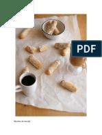 Biscoitos de Marzipã