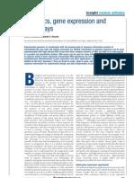 Bioinformatics - Genomics, Gene Expression And Dna Arrays 405827