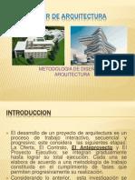 Taller de Arquitectura Metodologia de Diseño