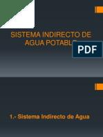 Sistema Indirecto de Agua Potable